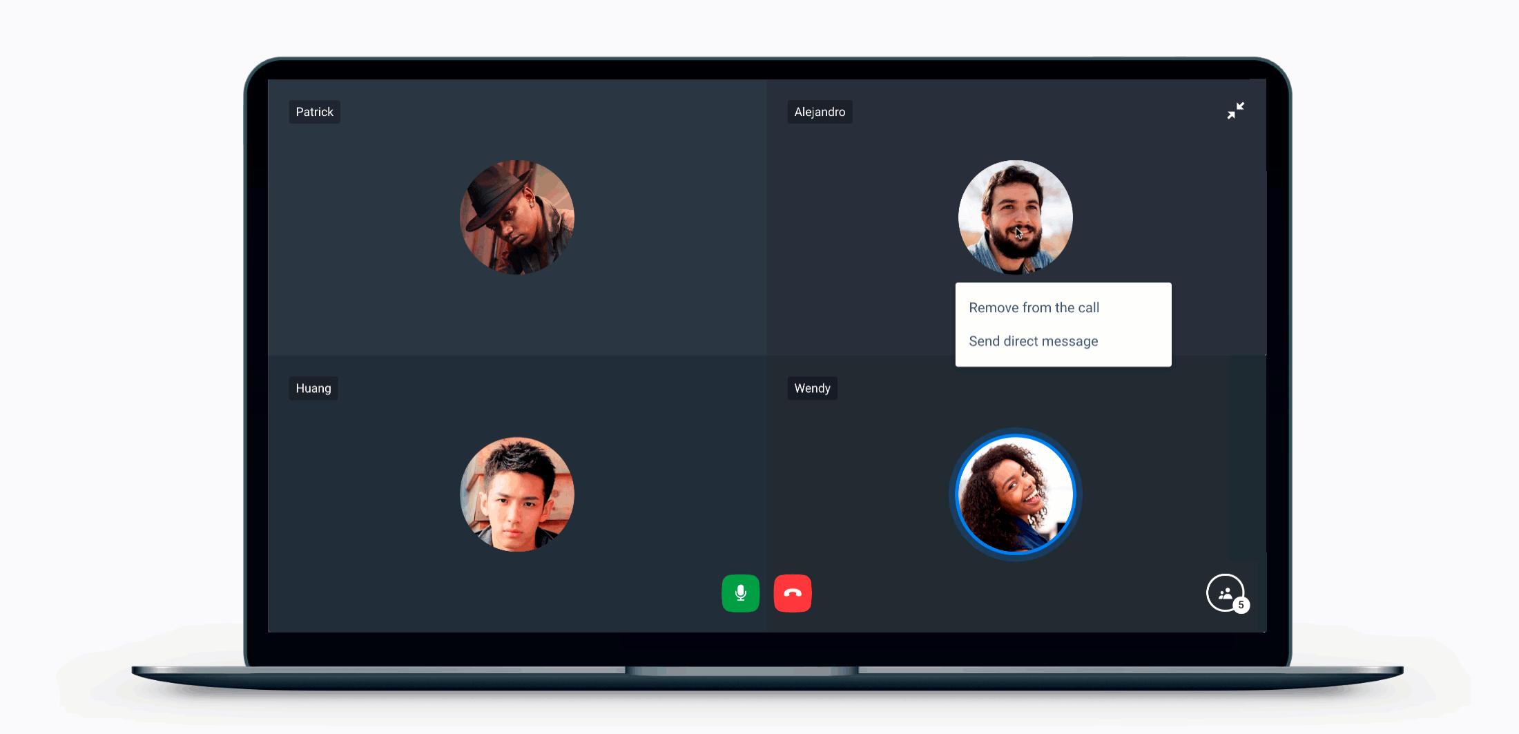 Desktop calls