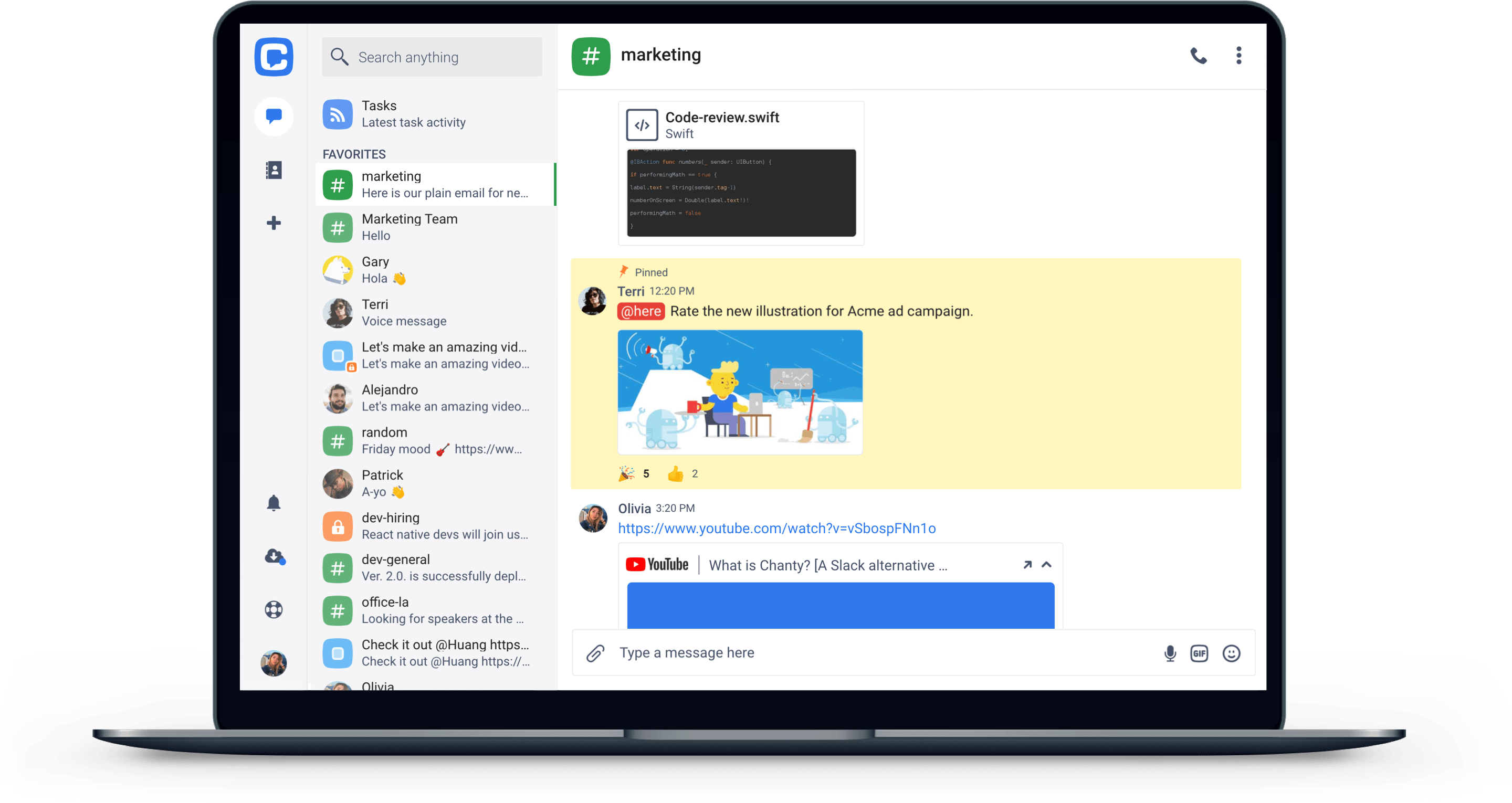 Stay-organized-with-Teambook-at-your-fingertips